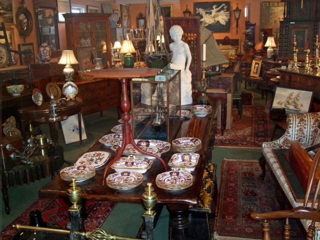 A.P.H. WALLER  and SONS Shop Interior