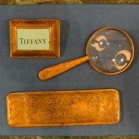 Tiffany Studios Zodiac Pattern Desk Set