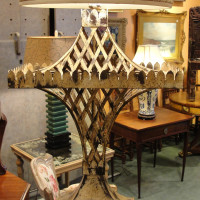 French Mid Century Bronze Lamp